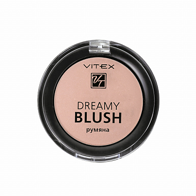 VITEX Компактные румяна DREAMY BLUSH тон 102: Golden peach